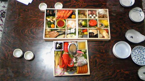 Cuisine du Nouvel An (O-sechi Ryôri)