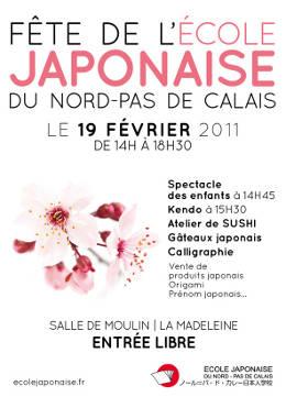 Fête de l'école japonaise du Nord Pas-de-Calais