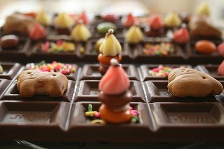 Chocolats pour la Saint-Valentin