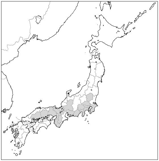 Carte des préfectures du Japon