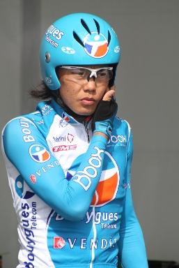 Yukiya Arashino aux Quatre Jours de Dunkerque en 2009