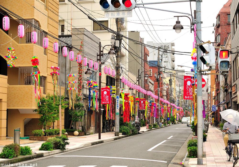 Shitamachi Tanabata Matsuri, Kappabashi Street, Tokyo