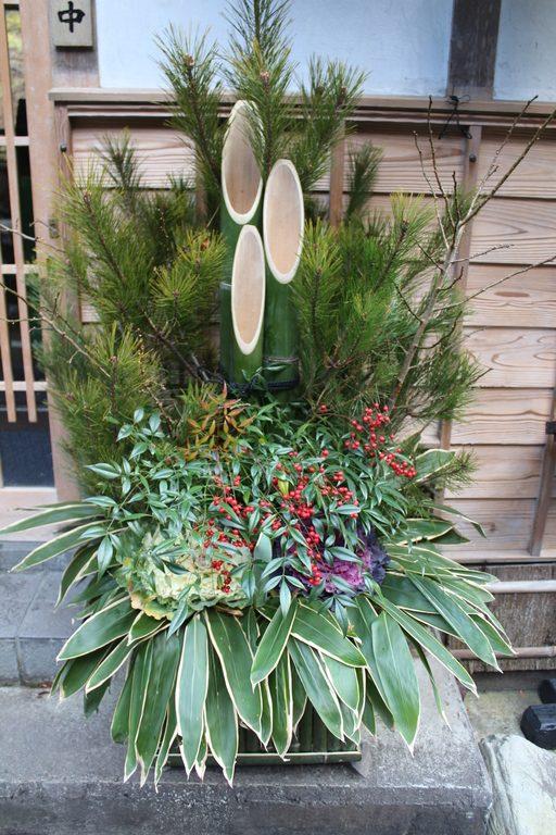 Le kadomatsu, l'un des symboles du nouvel an japonais